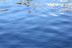 água brilhante da textura do mar Fotos de Stock