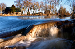 Água, córrego, cachoeira Imagens de Stock Royalty Free