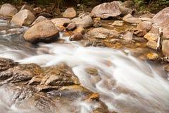 A água cai cascata na floresta tropical Fotografia de Stock Royalty Free