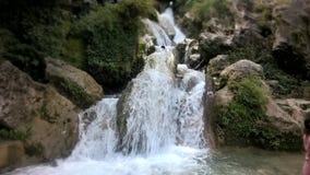 A água cai em Missouri foto de stock