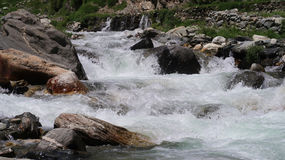 Água Chilas da geleira Imagens de Stock