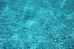 Água cintilante Fotos de Stock