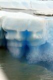 Caras na geleira fotografia de stock royalty free