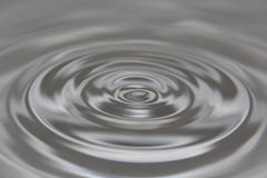 Água cinzenta Rippled Imagens de Stock