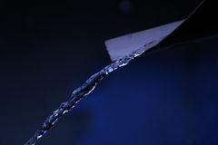 Água clara de Cristal Imagem de Stock Royalty Free