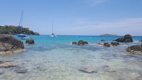 Água clara de turquesa Foto de Stock Royalty Free