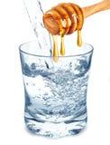 Água com mel imagens de stock royalty free