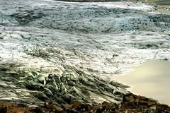 Água congelada Fotografia de Stock Royalty Free