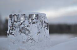 Água congelada Imagem de Stock