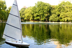 Água conservadora em Central Park, NYC Fotos de Stock