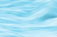 Água corrente, fundo macio das ondas Fotografia de Stock Royalty Free