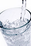 Água da bebida foto de stock