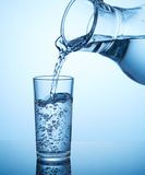 Água da bebida Fotografia de Stock