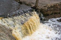 Água da cachoeira Imagem de Stock Royalty Free