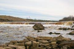 Água da cachoeira Foto de Stock