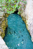 Água da caverna Foto de Stock