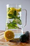 Água da desintoxicação Imagem de Stock