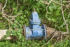 Água da fonte da infraestrutura Fotografia de Stock
