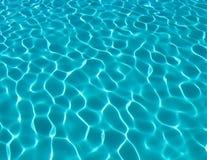 Água da piscina Imagem de Stock Royalty Free