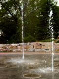 Água da terra Fotografia de Stock Royalty Free