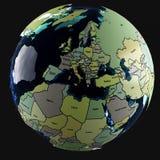 A água da terra Imagem de Stock Royalty Free