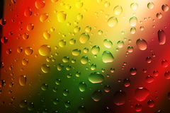 Água das gotas Foto de Stock