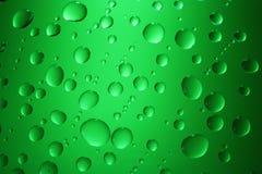 Água das gotas Fotos de Stock