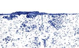 Água de borbulhagem Fotos de Stock