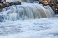 Água de conexão em cascata Fotografia de Stock