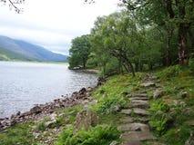 Água de Ennerdale, distrito Reino Unido do lago Imagem de Stock Royalty Free