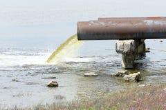 Água de esgoto Imagens de Stock