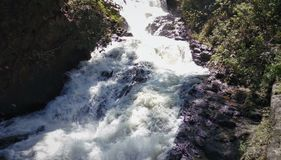 Água de fluência bonita Imagens de Stock