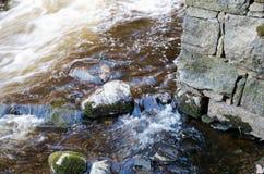 Água de flutuação fotografia de stock