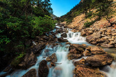 Água de fluxo fotografia de stock