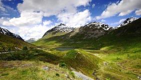 Água de fluxo rápida de Trollstigen Foto de Stock Royalty Free