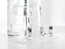 Água de gelo Fotos de Stock Royalty Free
