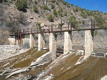 Água de irrigação Foto de Stock