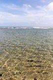 Água de Jensen Beach Florida imagens de stock