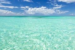 Água de mar azul Imagem de Stock Royalty Free