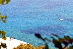 Água de mar azul Fotografia de Stock Royalty Free