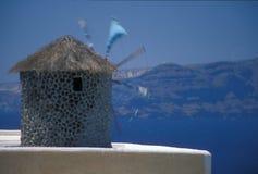 Água de negligência do moinho de vento Foto de Stock