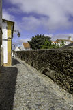Água de Prata Aqueduct (acueducto del agua de plata) en Évora, Po Fotografía de archivo libre de regalías