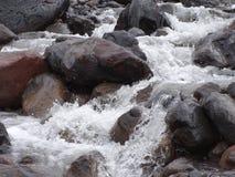 Água de pressa Fotografia de Stock