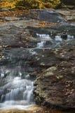 Água de seda da área de Gordon Fall, montanhas brancas, New Hampshire Imagem de Stock Royalty Free