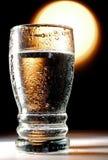 Água de vidro foto de stock