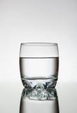 Água de vidro Foto de Stock Royalty Free