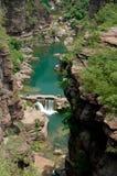Água de Yuntaishan Fotografia de Stock