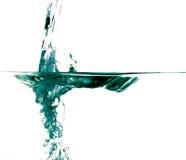 A água deixa cair #22 Foto de Stock Royalty Free