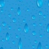 A água deixa cair sem emenda Fotografia de Stock