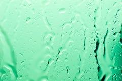 A água deixa cair a textura Fotografia de Stock